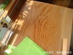 ヤニ松テーブル
